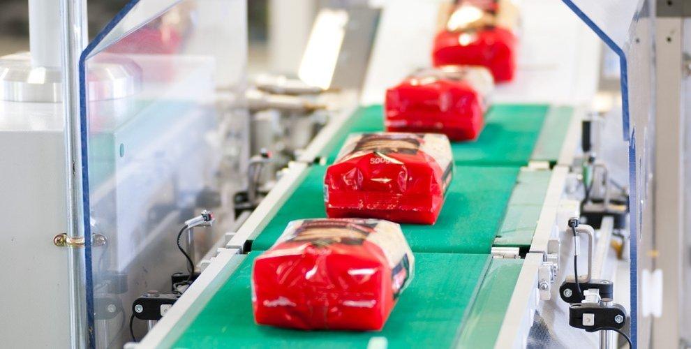 9. Envasado. Control de peso automático pasta corta